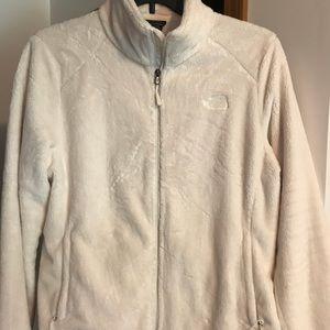 North face soft fleece zip jacket.